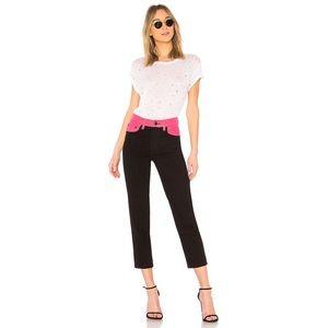 RAG & BONE Color Block Ash Jeans 25 NWT
